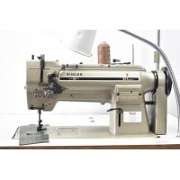 Singer 211U66A Walking Foot Needle Feed Lockstitch Straight Stitch Industrial Sewing Machine