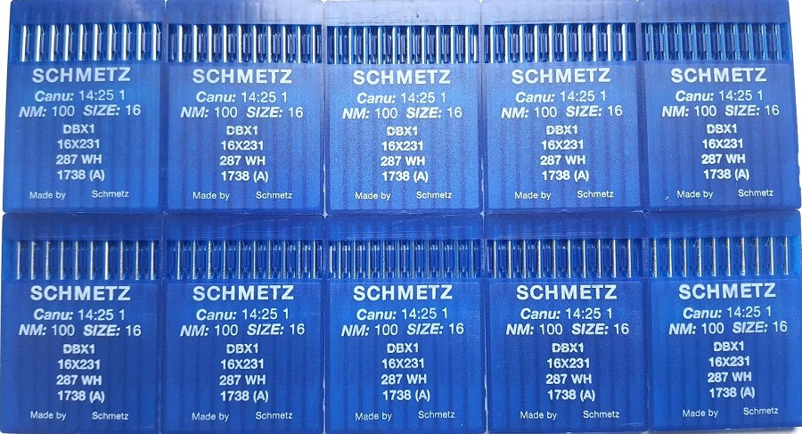 Buy SCHMETZ Industrial sewing machine needles DBx1 16x231 ...
